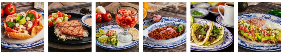 restaurantes mexicanos en el paso: Julio´s, date el capricho, aunque sea a domicilio 4