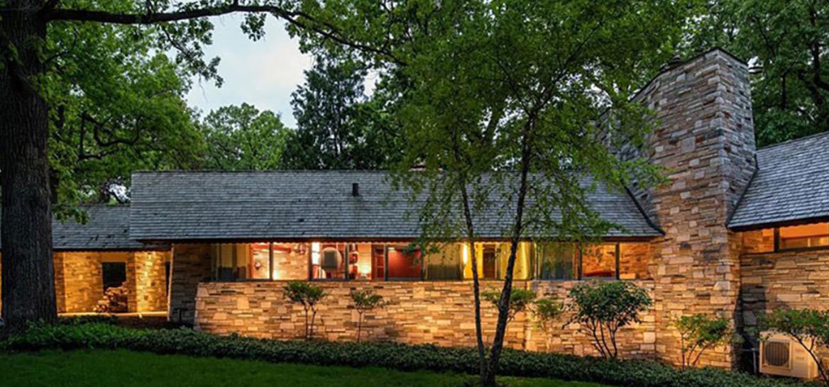 una casa para el abuelo como la de Frank Lloyd Wright de 1949 1