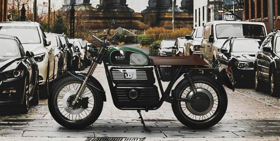 lo mas nuevo en motos: RGNT NO.1 eléctrica y retro 2
