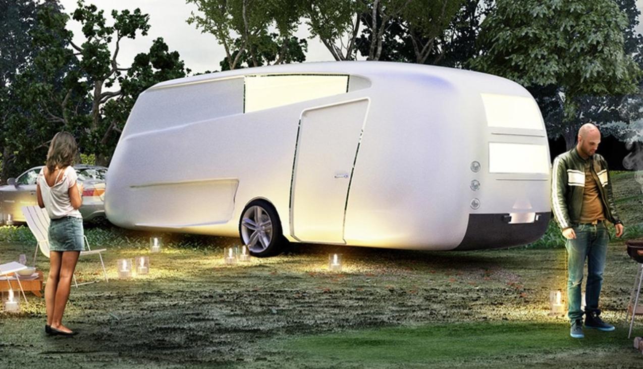 las mejores caravanas de lujo para parejas jubiladas: Nomad