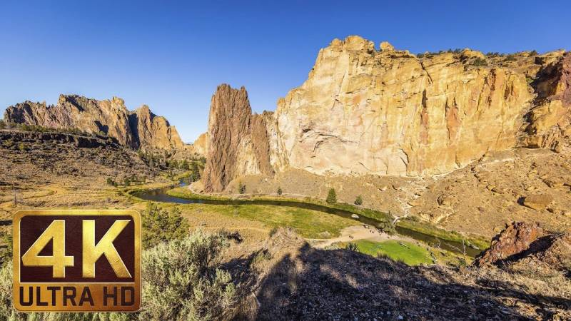 Relajandose en Smith Rock State Park, Oregon 1