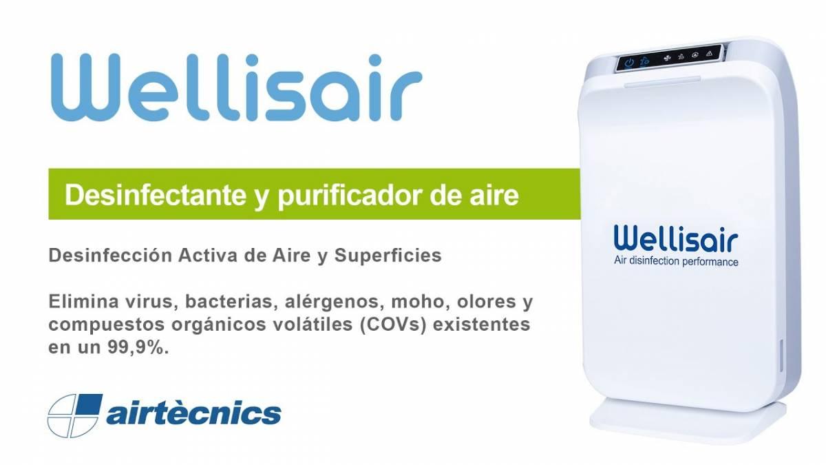 Wellisair: el nuevo dispositivo para desinfectar de virus 1